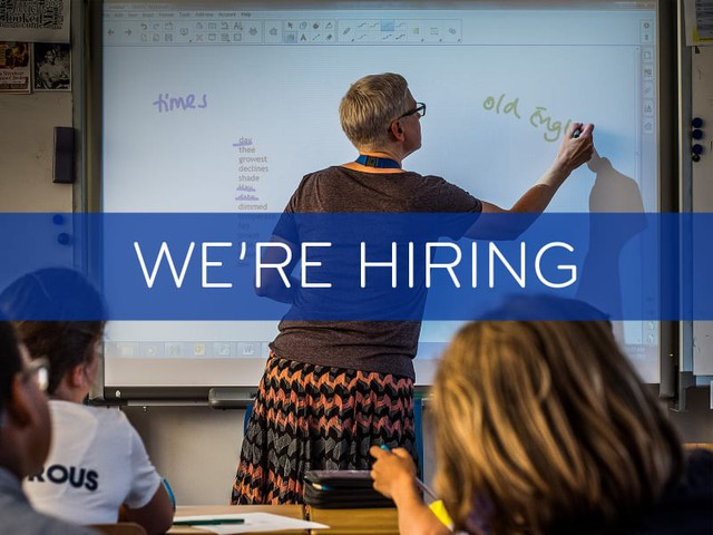 Job offer: Secondary Math Teachers